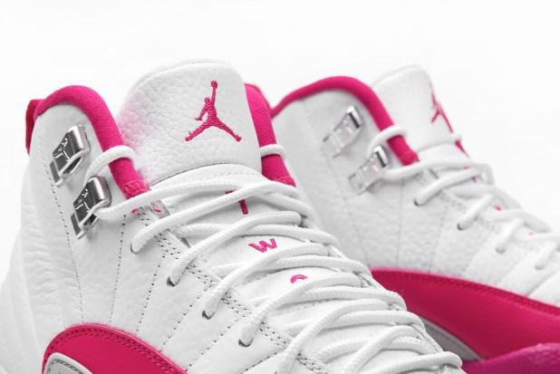 jordan 12 vivid pink 3