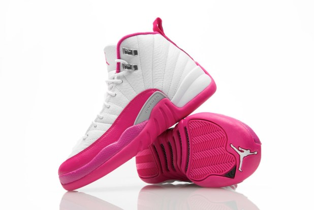 jordan 12 vivid pink 5