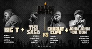 Rap Battle: Charlie Clips + John John Da Don VS Big T + Th3 Saga