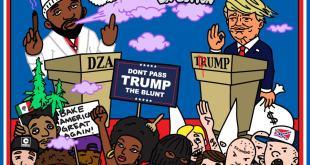 Smoke DZA - George Kush Da Button: Don't Pass Trump The Blunt (Mixtape)