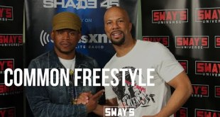 Common drops dope verses on Sway in the Morning
