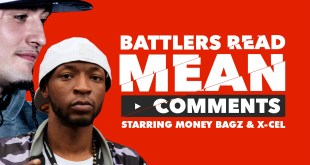 Battler Rappers Read Mean Comments - Money Bagz/Xcel (Video)