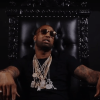 """Slim Thug Performs From His Throne in """"King"""""""