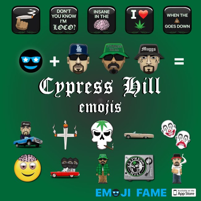 Cypress Hill and Emoji Fame Connect For a New Emoji Set