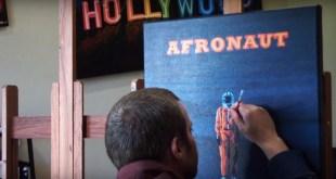 "MH the Verb - Power (""Afronaut"" Album Art Paint Process by Borbay)"
