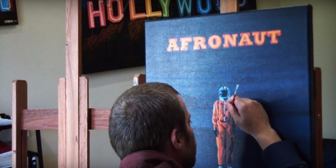 Watch Visual Artist Borbay Reveal The Cover Artwork For MH The Verb's Forthcoming 'Afronaut'