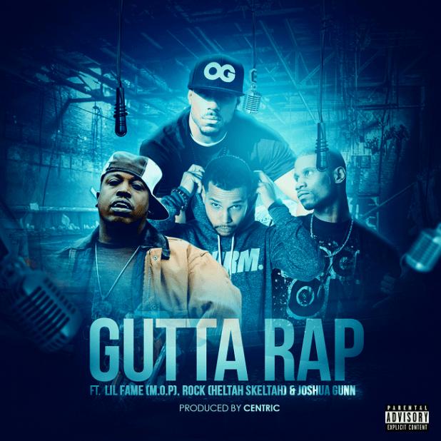 Centric, Lil Fame, Joshua Gunn and Rock - Gutta Rap (Audio)
