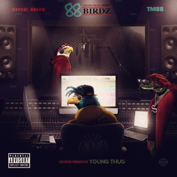 Doe Boy & TM-88 - 88 Birdz (Mixtape)