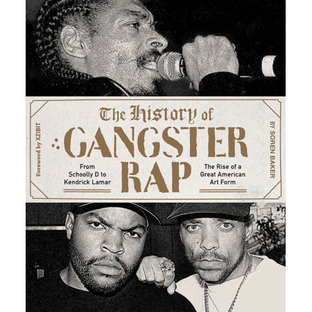 the history of gangsta rap cover
