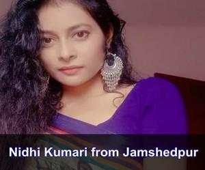 Nidhi Kumari, Jamshedpur