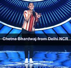 Chetna Bharadwaj indian Idol