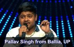 Pallav singh Indian Idol 11