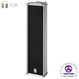 TOA TZ205 Column Speaker Bangladesh Trimatrik ITC T-802H Series Upscale Public Address Waterproof Outdoor Speaker Column