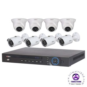 DAHUA 8 CHANNEL IP PACKAGE Bangladesh, DAHUA CCTV CCTV Camera