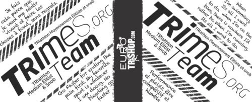 Trimes.org waterbottles feature quotes from young athletes we dig. | Les bidons Trimes.org sont décorés de citations venant des jeunes athlètes que nous trimons.