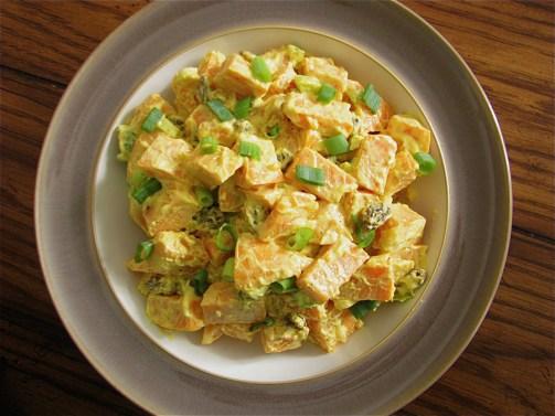 11. Curried Sweet Potato Salad