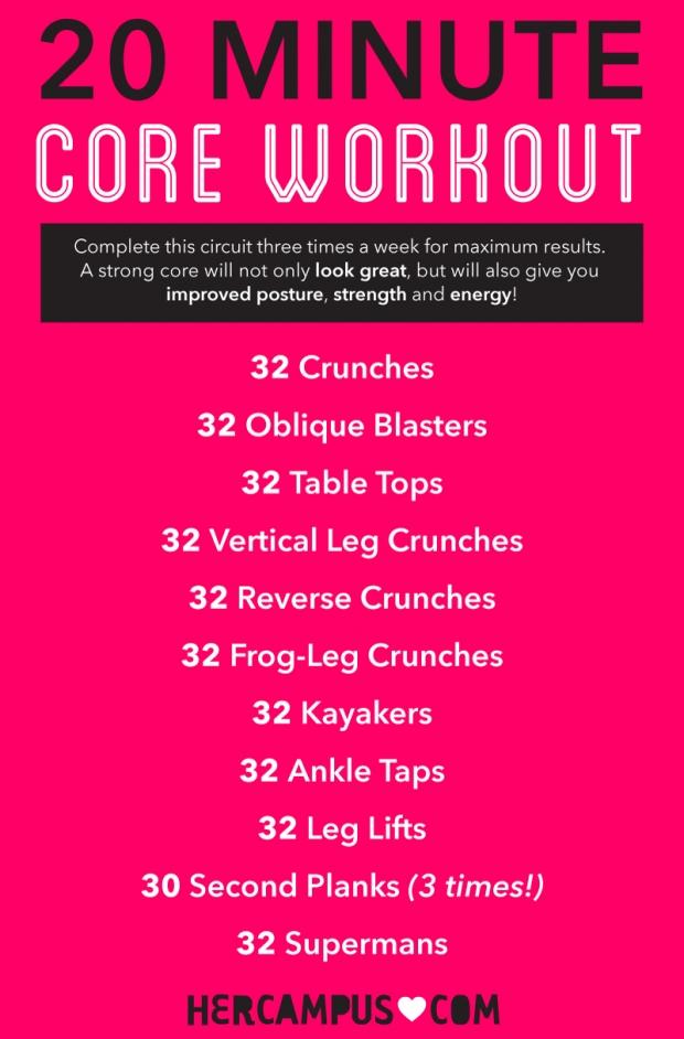 Belly Fat Burner Exercises