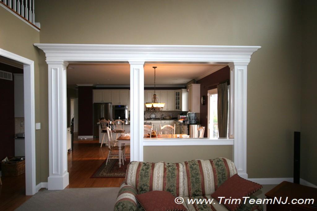 Doorways And Archways Trim Team Nj Woodwork Fireplace