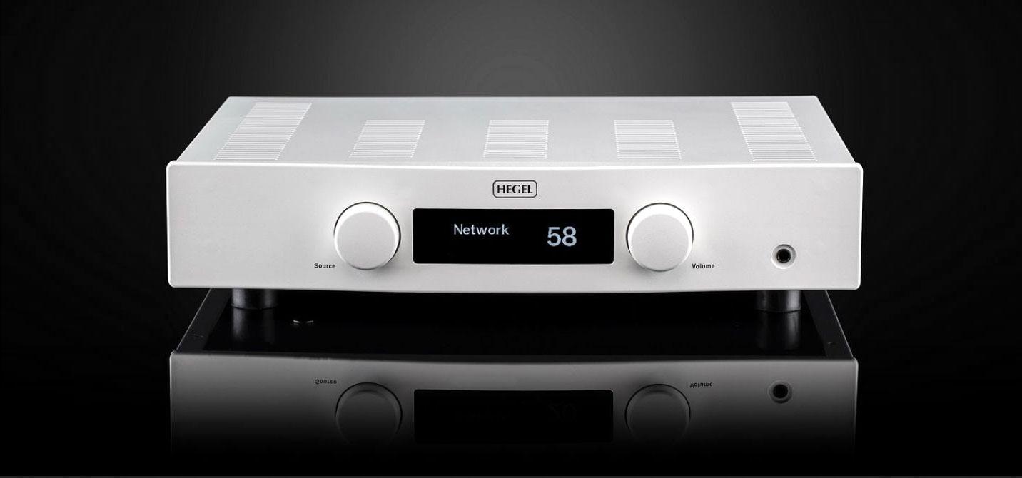 Hegel H160 integrovaný zosilnovač s kvalitným DAC prevodníkom a DLNA/AirPlay streamovaním