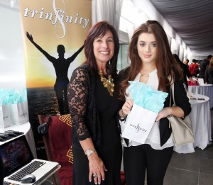 BRIELLE BARBUSCA, the president's daughter in SCANDAL, liked Trinfinity8