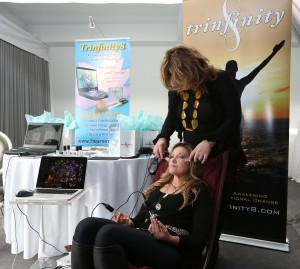 Beverly Hills esthetician, Leora Veysey, gives Nashville singer/songwriter, SHERI PEDIGO, a crystal facial.