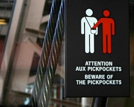 Pickpocket-Signs