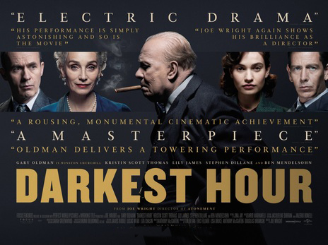 Friday 21st September – Darkest Hour