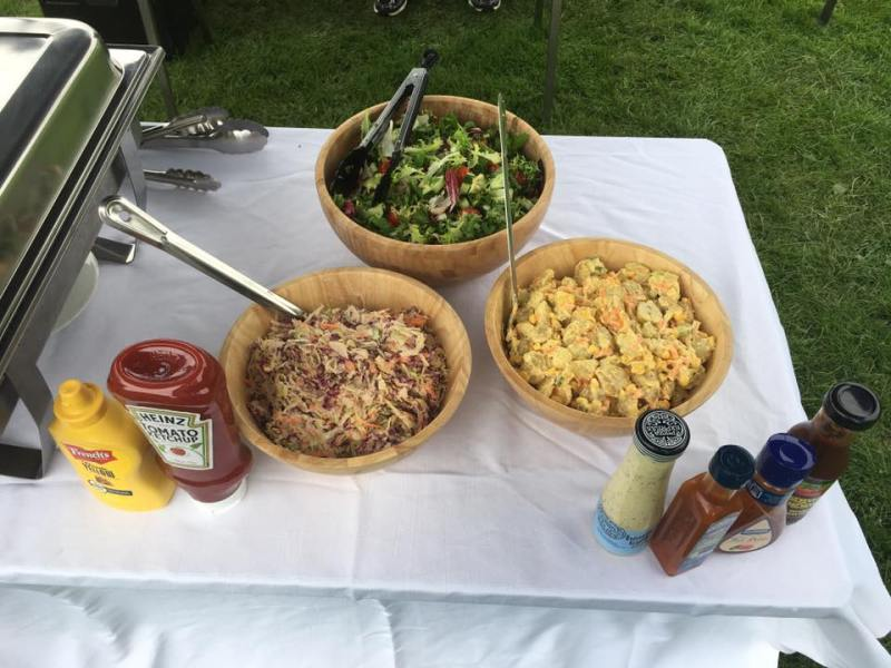 BBQ Catering - Salads and Sauces