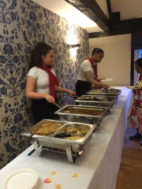 Evening Buffet for a Wedding in Brentwood, Essex