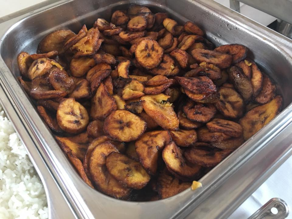 Fried Plantain ready for Serving