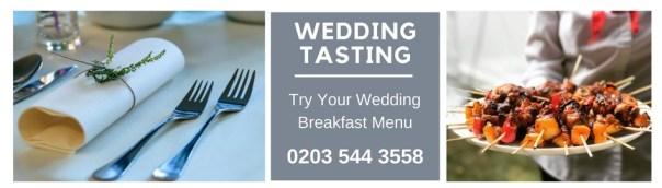 Wedding Tasting Caribbean Catering London