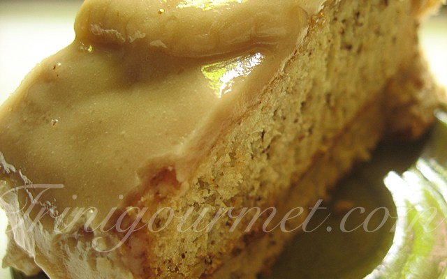 Tennessee Banana-Black Walnut Cake with Caramel Frosting (recipe)