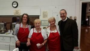 ECW leadership team with Fr. Bartolomeo ...