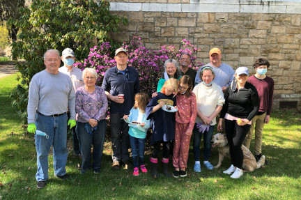 Spring Clean-up at Trinity 2021