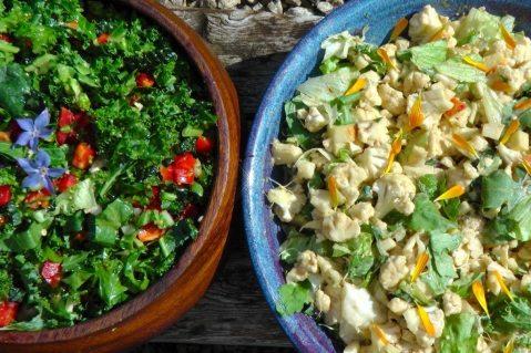A wonderful way to enjoy raw cauliflower as a salad.