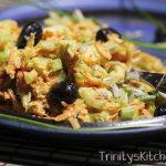 Celery Slaw by Trinity Bourne