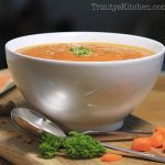 Carrot & Ginger Wellnes soup 2