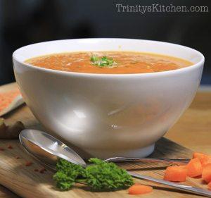 Carrot & Ginger Wellnes soup 2