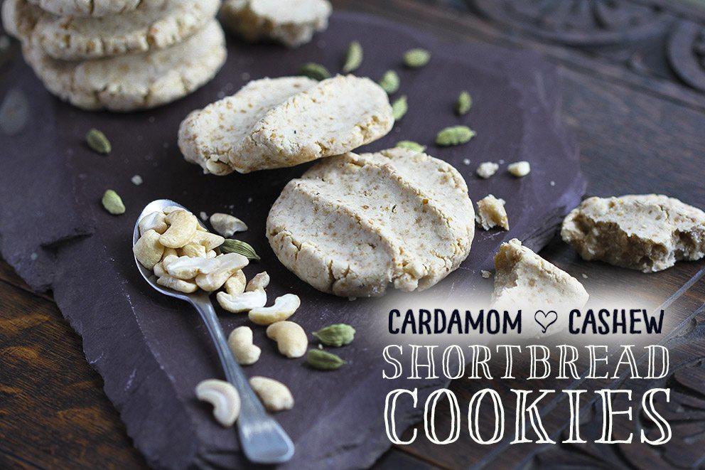 Cardamom cookies by Trinity Bourne