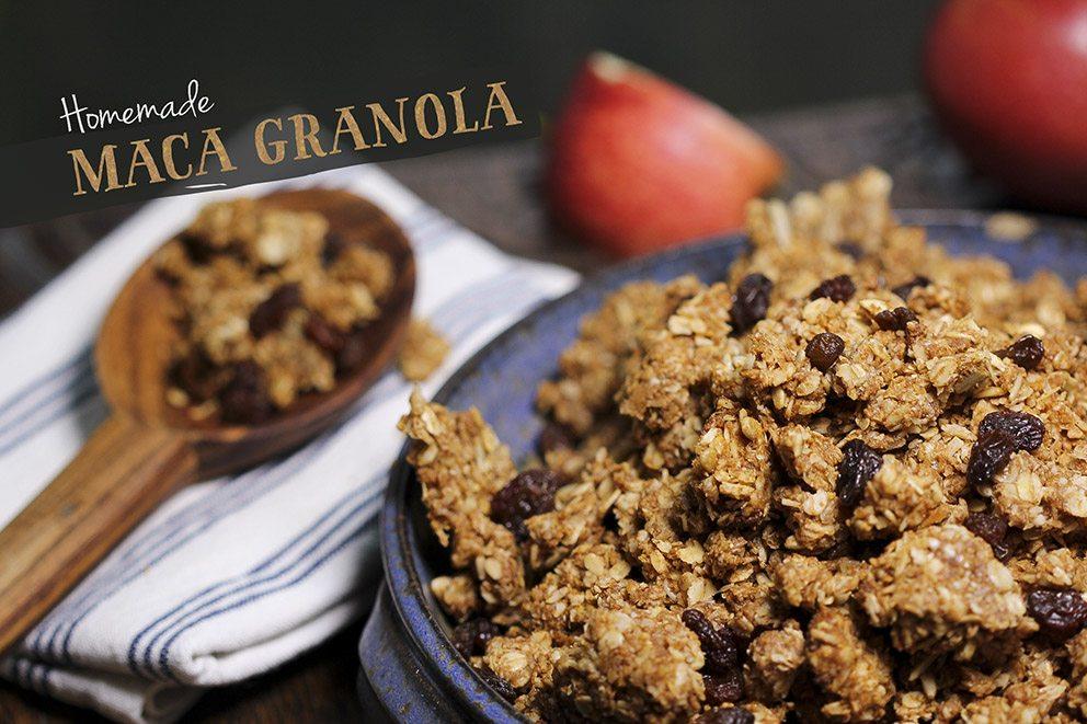 Maca granola by Trinity