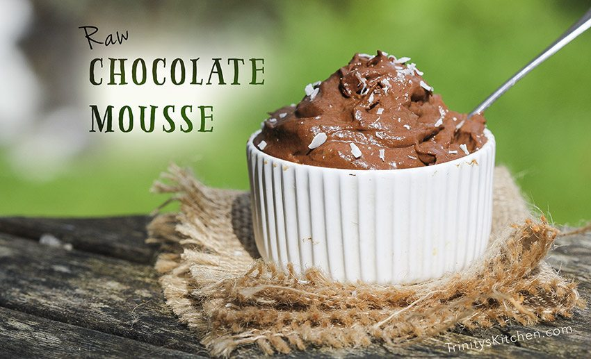 Raw Chocolate Mousse Recipe with Avocado & Banana – Trinity's ...
