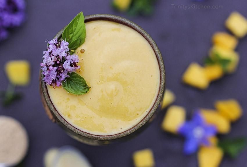 Maca Mango Smoothie for Natural Hormone Balance