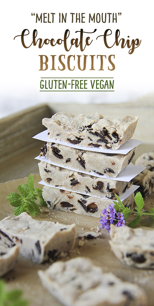 Melt in the mouth, gluten-free, vegan biscuits by Trinity