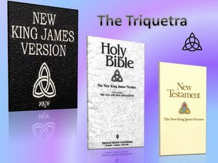 Bibles with a triquetra