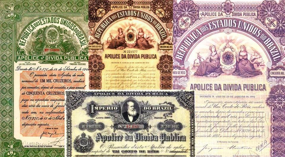 Imagem de títulos públicos