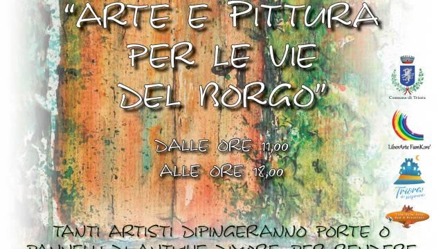 Arte e pittura per le vie del Borgo – 25/26 maggio