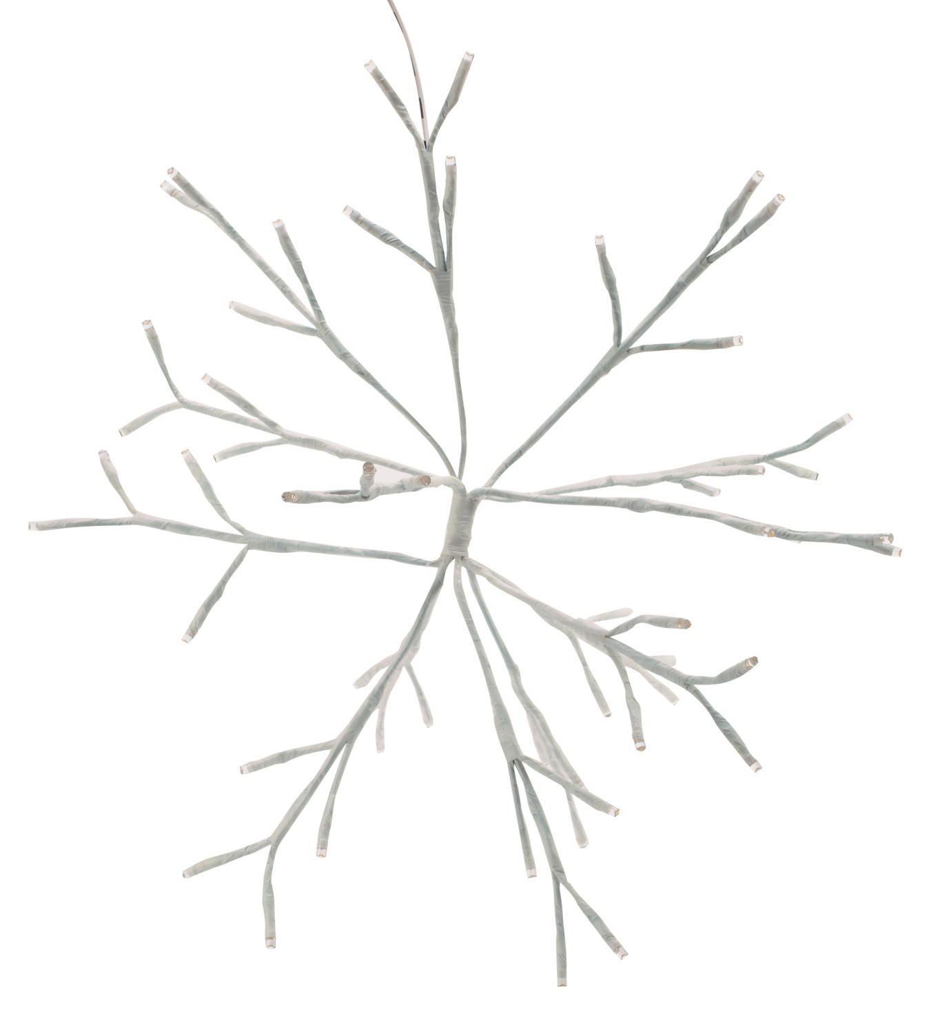 Birch Led Lighted Trees Amp Snowflake