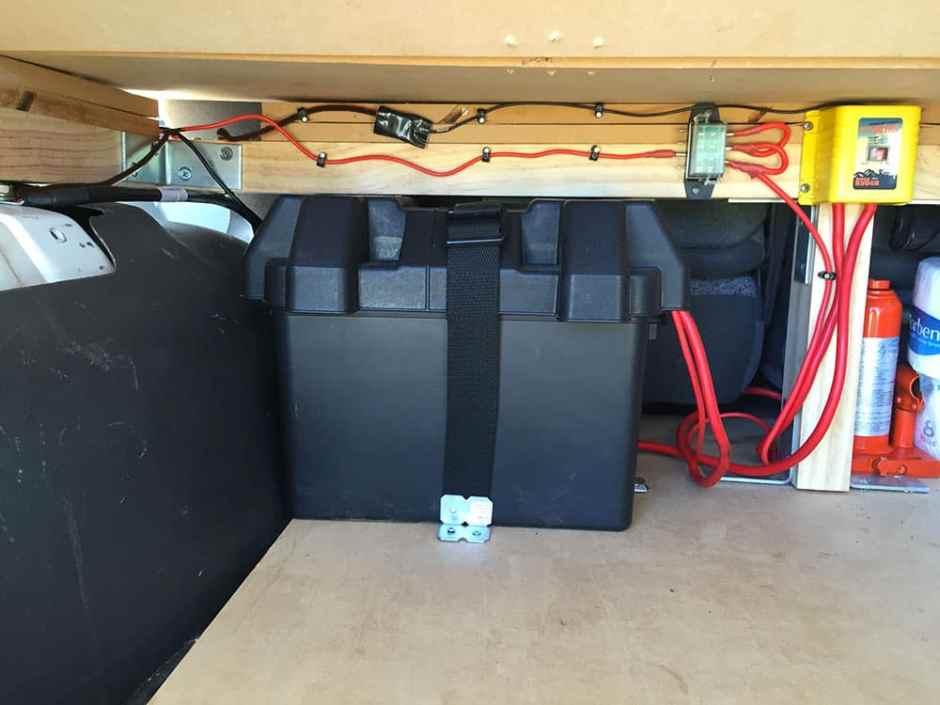 Un petit aperçu de notre installation électrique