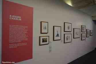 Exposition sur le dessin et particulièrement #jesuicharlie