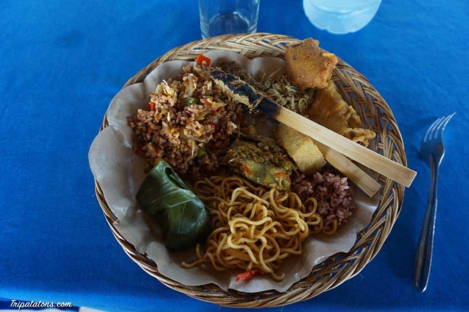 rice-terrace-jatiluwih-meal
